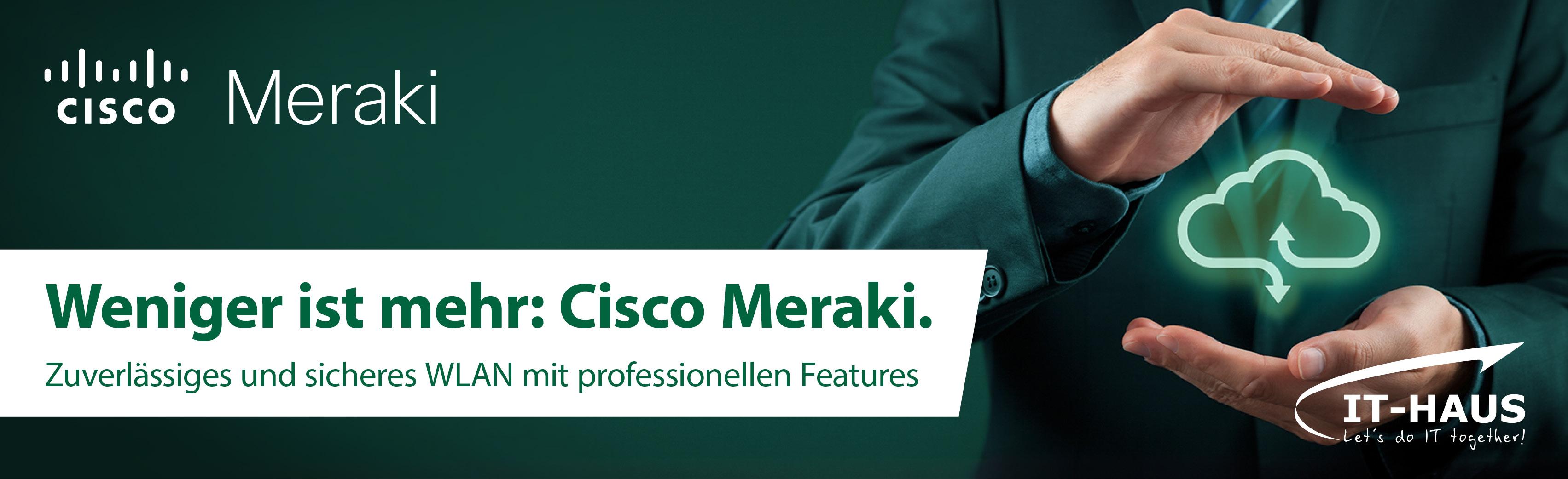 Cisco Meraki Banner