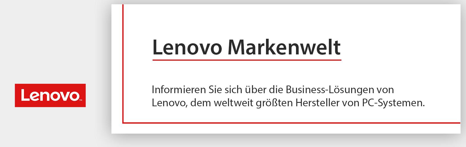 Lenovo-Markenwelten