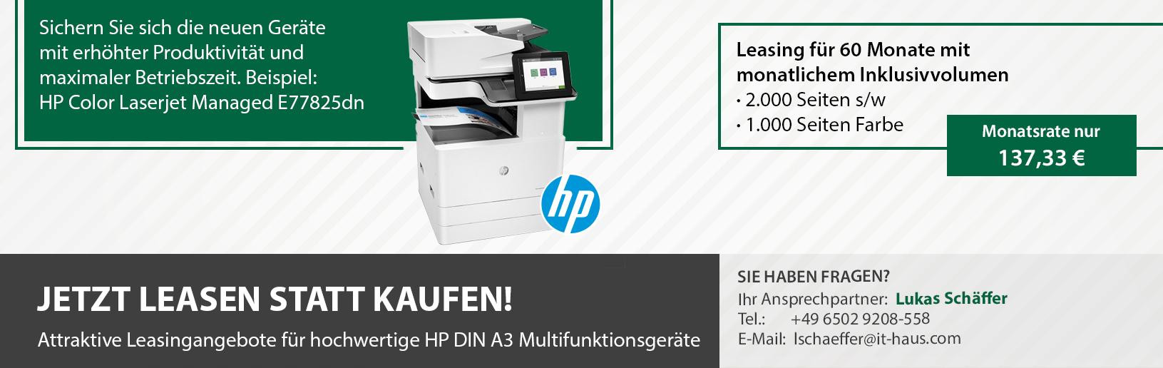 HP Drucker Leasing